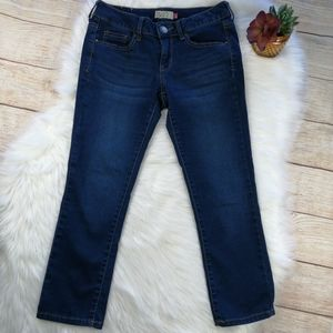 SO Blue Cropped Jeans Size 5